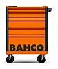 Bahco 6 drawer Solid Steel WheeledTool Chest, 965mm
