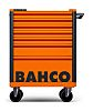 Bahco 7 drawer Solid Steel WheeledTool Chest, 965mm