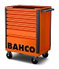Bahco 8 drawer Solid Steel WheeledTool Chest, 965mm