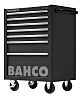 Bahco 7 drawer Stainless Steel (Top) WheeledTool Chest,