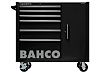 Bahco 6 drawer Stainless Steel WheeledTool Chest, 985mm