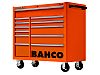 Bahco 12 drawer Stainless Steel (Top) WheeledTool Chest,