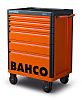 Bahco 6 drawer Solid Steel WheeledTool Chest, 980mm
