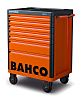 Bahco 7 drawer Solid Steel WheeledTool Chest, 980mm