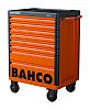 Bahco 8 drawer Solid Steel WheeledTool Chest, 985mm