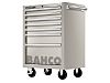 Bahco 7 drawer Stainless Steel WheeledTool Chest, 860mm