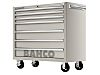 Bahco 7 drawer Stainless Steel WheeledTool Chest, 1200mm