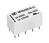 Hongfa Europe GMBH DPDT Non-Latching Relay PCB Mount,
