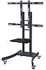 LCD/TV Mobile Cart, heavy weight (up to