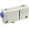 SMC Vacuum Ejector, 1.8mm nozzle , -66kPa 128L/min
