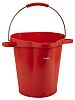 20L Plastic Red Bucket With Handle