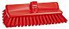 Vikan Red 41mm Polyester Medium Scrubbing Brush for