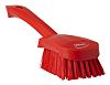 Vikan Red 36mm Polyester Hard Scrubbing Brush for