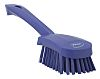 Vikan Purple 36mm Polyester Hard Scrubbing Brush for