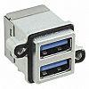 Amphenol, MUSBR USB Connector, PCB Mount, Socket 3.0