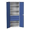 Bott 2 Door Steel Lockable Floor Standing Storage