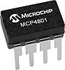 Microchip Technology MCP4801-E/SN, 8 bit DAC, 8-Pin SOIC
