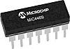 Microchip Technology MIC4469YWM Quad Low Side MOSFET Power