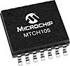 MTCH105-I/ML, Capacitive Touch Controller IC, 16-Pin QFN