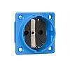 ABL Sursum Blue Plug Socket, 2P + PE