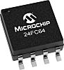 Microchip Technology 24FC64-I/MS, 64kbit Serial EEPROM Memory