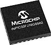DSPIC33FJ16GS502-E/MM Microchip DSPIC, 16bit Digital Signal