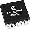 Microchip Technology MCP3302-CI/ST, 13 bit Serial ADC