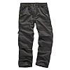 Scruffs Grey Men's Fabric Trousers 40in, 100cm Waist