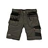 Scruffs Trade Grey Men's Fabric Shorts Imperial Waist