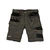 Scruffs Trade Grey Men's Fabric Shorts Waist Size