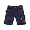 Scruffs Trade Blue Men's Fabric Shorts Waist Size