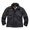 Scruffs Pro Jacket Black Nylon Work Jacket, XL