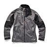 Scruffs Pro Softshell Charcoal Fabric Work Jacket, XXL