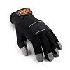 Scruffs Full Fingered Glove, Black Work Gloves, Size