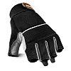 Scruffs Fingerless Glove, Black Gloves, Size 10