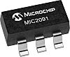 Microchip MIC2091-1YM5-TR, 1High Side, Current Limiting Power