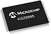 Microchip KSZ8895FQXIA Ethernet Switch IC, 10/100Mbit/s 3.3 V,