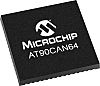Microchip AT90CAN64-16MU, 8bit AVR Microcontroller, AT90, 16MHz,
