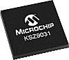 Microchip Technology KSZ9031RNXIC, 1000BASE-T, 100BASE-TX,