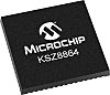 Microchip KSZ8864CNXIA Ethernet Switch IC, 10/100Mbit/s 3.3 V,