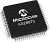 Microchip Technology KSZ8873RLL, 3-Port Ethernet Switch IC, RMII,