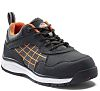 Dickies Elora Black/Orange Women Toe Cap Safety Trainers,