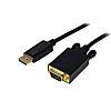 Startech DisplayPort to VGA Adapter 1.8m - 1920