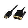 3 foot DisplayPort to DVI Active Adapter