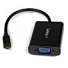 Startech Micro HDMI to VGA Adapter 258mm -