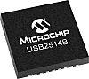Microchip USB2514B-AEZC-TR, USB Controller, I2C, USB 2.0, 3.3