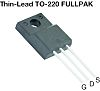 N-Channel MOSFET, 2.8 A, 800 V, 3-Pin TO-220