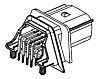 Molex Automotive Connector Plug 20 Way, Solder Termination