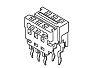 Molex 6-Way IDC Connector Socket for Through Hole