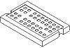Molex Traceability Pad RFID Reader, 1.8 x 2.8